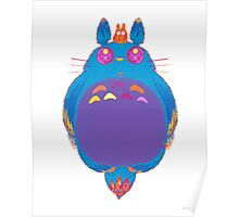 Space Totoro Poster