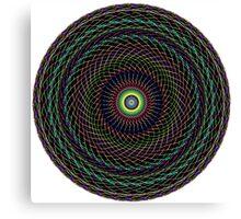Multi Colored Swirl 2 Canvas Print