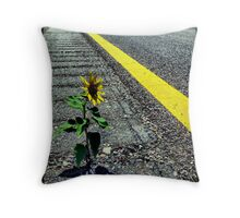 Hitchhiker Throw Pillow