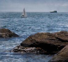 Beach scene by Kerri Albano