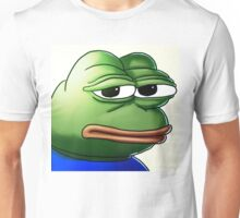 serious pepe Unisex T-Shirt