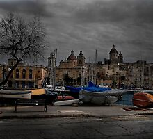 Vittoriosa Vibes Location Birgu Malta by Edwin  Catania