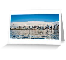Seattle Waters Greeting Card