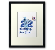 Chicago Cubs Addison Russell Fan Club Framed Print