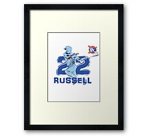 Chicago Cubs Addison Russell Framed Print