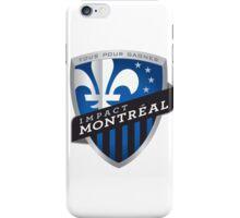 montreal impact iPhone Case/Skin