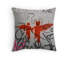 Super Heroes Throw Pillow