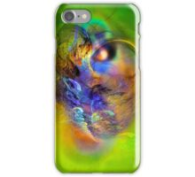 Ancient Chief, digital abstract iPhone Case/Skin