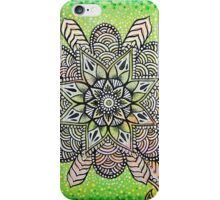 Radioactive Mandala iPhone Case/Skin