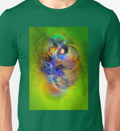 Ancient Chief, digital abstract Unisex T-Shirt