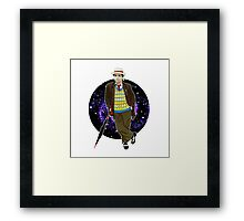 The 7th Doctor - Sylvester McCoy Framed Print