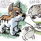 Strange Puppy by OscarEA