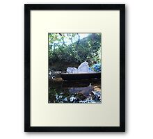 Alice is Dreaming Framed Print