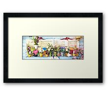 Country Porch Flowers [Gary Guthrie] Framed Print