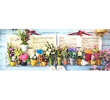 Country Porch Flowers [Gary Guthrie] Photographic Print