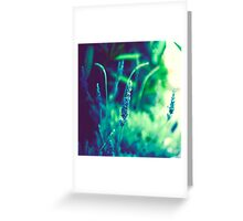 ...in movement there is life, and in change there is power Greeting Card