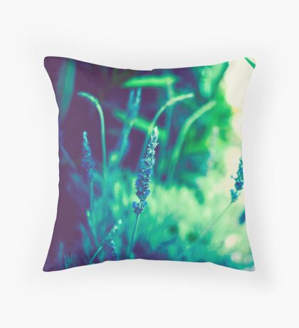...in movement there is life, and in change there is power Throw Pillow