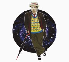 The 7th Doctor - Sylvester McCoy Baby Tee