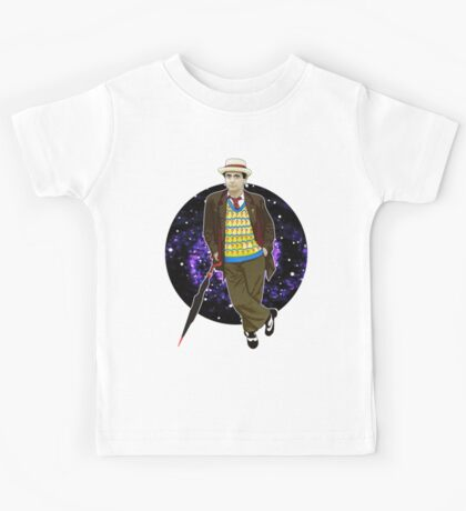 The 7th Doctor - Sylvester McCoy Kids Tee