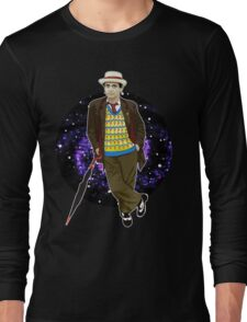 The 7th Doctor - Sylvester McCoy Long Sleeve T-Shirt