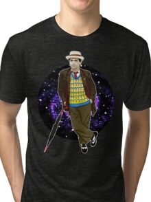 The 7th Doctor - Sylvester McCoy Tri-blend T-Shirt