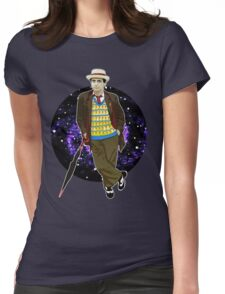 The 7th Doctor - Sylvester McCoy Womens Fitted T-Shirt