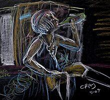 life drawing 5-24-09  Lush Life by CKay Walker