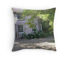 Dorset Country Home and Garden Throw Pillow