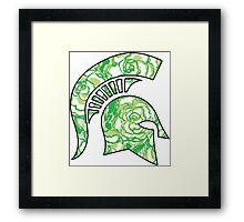 Lilly Print Spartan Framed Print