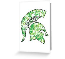 Lilly Print Spartan Greeting Card
