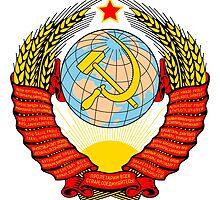Emblem of the Soviet Union  by abbeyz71