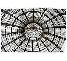 Dome of The Galleria Vittorio Emanuele II  Poster