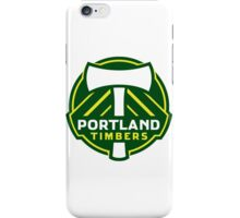 portland timbers iPhone Case/Skin