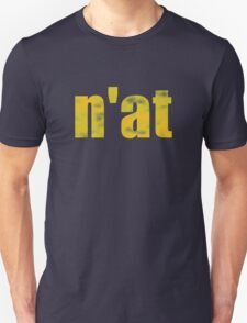 Vintage n'at (Pittsburgh) text Unisex T-Shirt