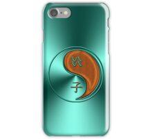 Aquarius & Rat Yang Wood iPhone Case/Skin