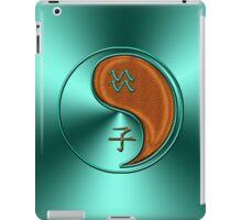 Aquarius & Rat Yang Wood iPad Case/Skin