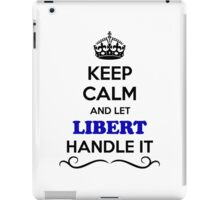 , Keep, Calm, Let, Handle, it, expression, lifestyle, name iPad Case/Skin