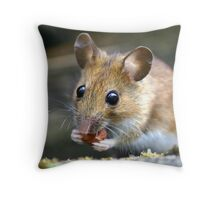 Nibble Nibble Throw Pillow