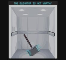 The elevator is not worthy by sovlful