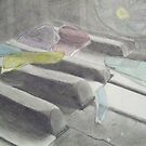 Stained Glass Piano by ReadingBeauty