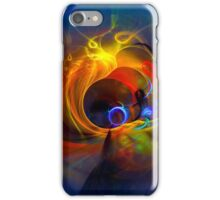 Black Hole - digital abstract art iPhone Case/Skin