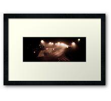 Night myst Framed Print