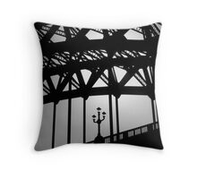 Tyne Bridge Throw Pillow