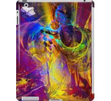 Camp fire story - digital abstract art iPad Case/Skin