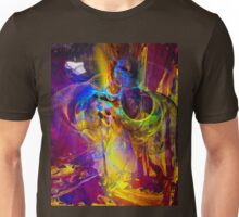 Camp fire story - digital abstract art Unisex T-Shirt