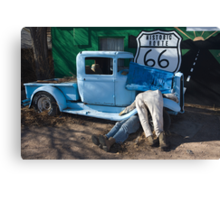 Gettin My Kicks on Route 66 Canvas Print