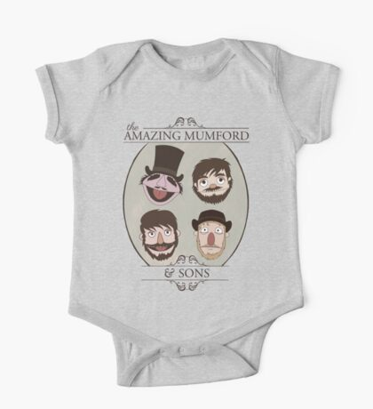 The Amazing Mumford and Sons One Piece - Short Sleeve