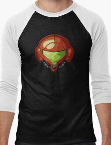 Samus Helmet Shirt Men's Baseball ¾ T-Shirt