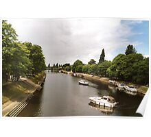 River Ouse at York. Poster