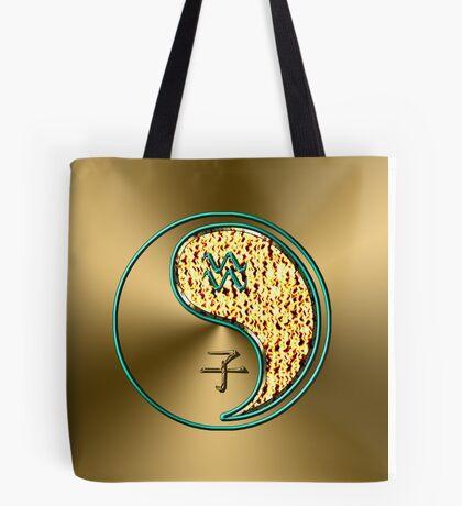 Aquarius & Rat Yang Fire Tote Bag